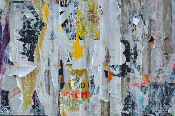 广告废料回收